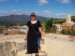Top of Museo de Revolucion in Trinidad Cuba