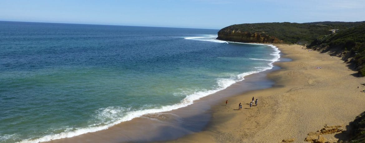 The famous Bells Beach near Torquay