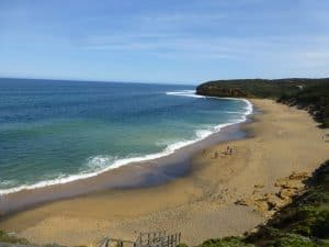 The famous Bells Beach near Torquay