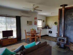 Interior of WIllow Cottage, Wilderness Cottages Lovedale Hunter Valley